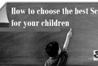 Contoh Procedure Text How to choose a school