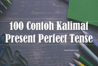 100 Contoh Kalimat Present Perfect Tense Ter-update dan Terjemahanya